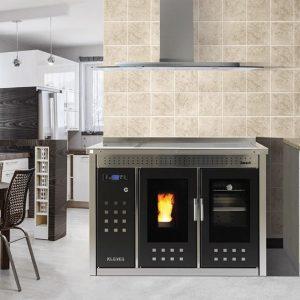 Fogão / Pellets / Aquecimento Central – Smart 120