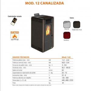 Salamandra Acier Mod.12C