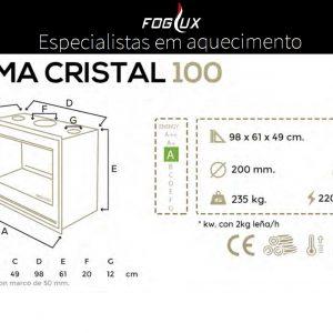 Recuperador Cristal Blackeram 100
