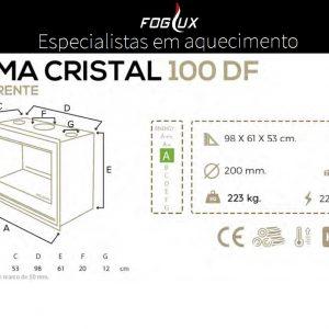 Recuperador Cristal Blackeram DF 100