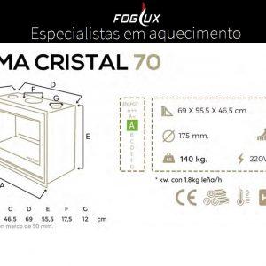 Recuperador Cristal Blackeram 70