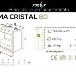Recuperador Cristal Blackeram 80