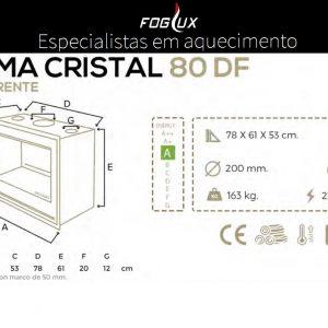 Recuperador Cristal Blackeram DF 80